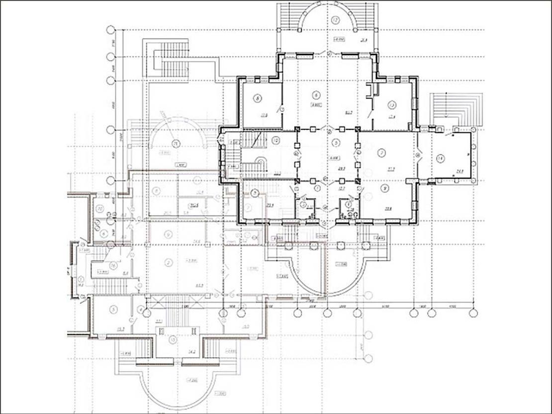 Поэтажный план объекта